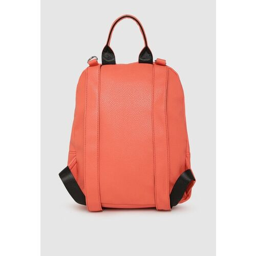 Caprese Women Coral Solid Backpack