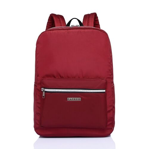 Caprese Women Red Solid Backpack