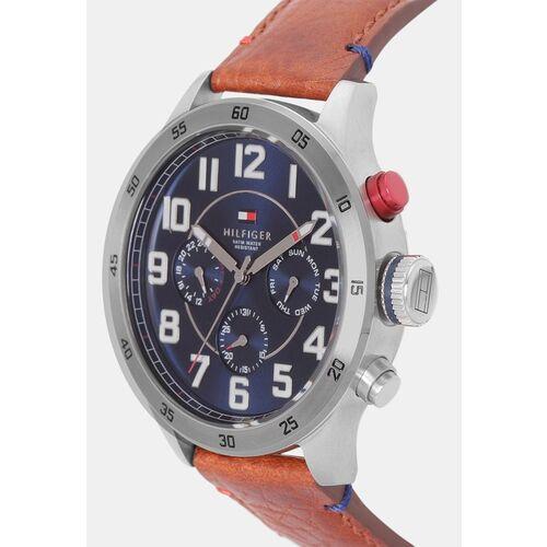 Tommy Hilfiger Men Navy Blue Analogue Watch NATH1791066J
