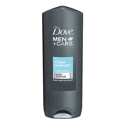 Dove Men + Care Body Face Wash - Clean Comfort (400ml)