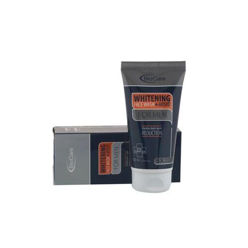 Gemblue Biocare bio care whitening facewash plus antispot for men