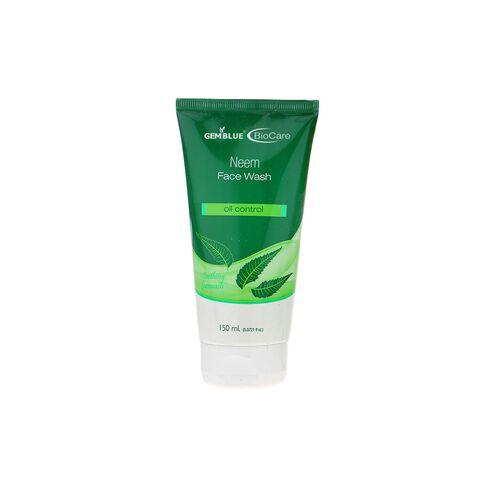 gemblue biocare neem face wash 150ml