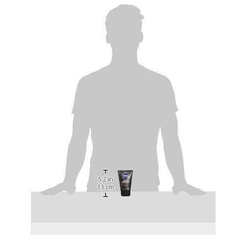 NIVEA MEN Face Wash, Deep Impact Intense Clean, 100ml