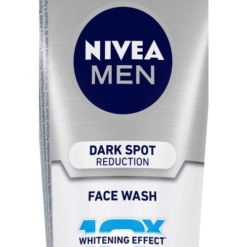 Alba Nivea Men Dark Spot Reduction Face Wash with 10X Whitening Effect - 100 g