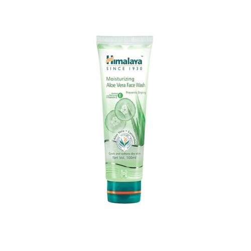 Himalaya Moisturizing Aloe Vera Face Wash with Vitamin E for Dry Skin 100 ml
