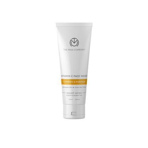 THE MAN COMPANY Vitamin C Face Wash with Turmeric & Moringa for Glowing Skin 100 ml