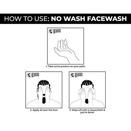 Beardo No wash Facewash, 100 gm   Made in India