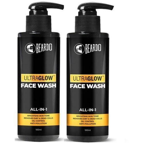 BEARDO Ultraglow Facewash For Men, Combo Face Wash(200 ml)
