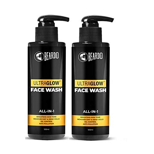 BEARDO Ultraglow Facewash For Men, 100 ml