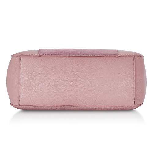 Caprese Dana Women's Satchel (Dull Pink)