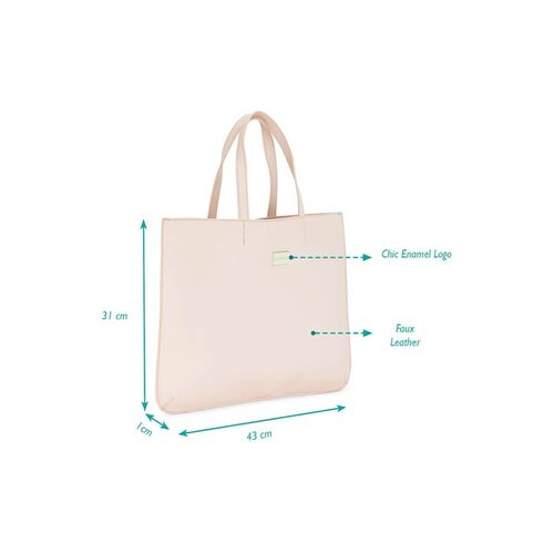 Caprese Women Pink Solid Handheld Bag With Detachable Sling Strap