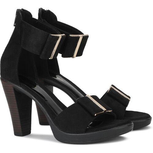 Catwalk Women Black Heels