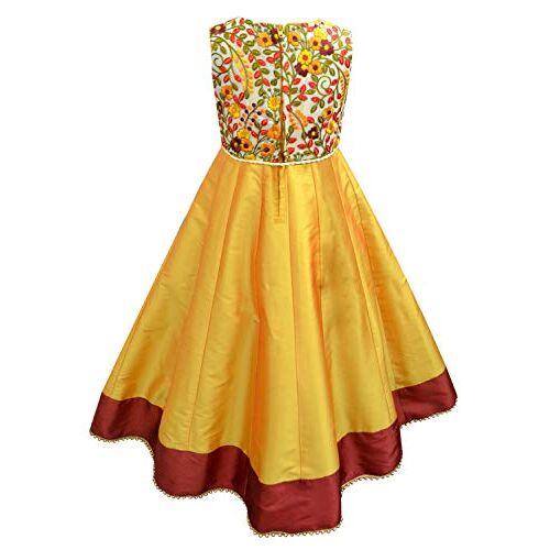 A.T.U.N. All Things Uber Nice A.T.U.N. Girl's Anarkali Ethnicwear Party Dress