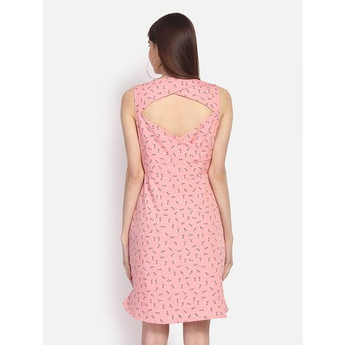 ditsy floral a-line dress