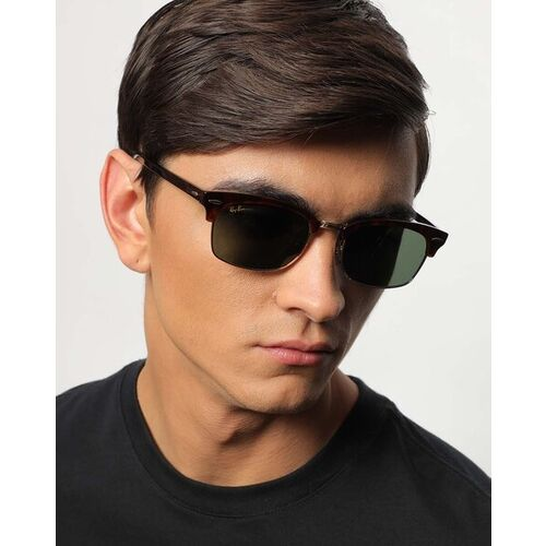 Ray Ban 0RB391613043152 UV-Protected Clubmaster Sunglasses