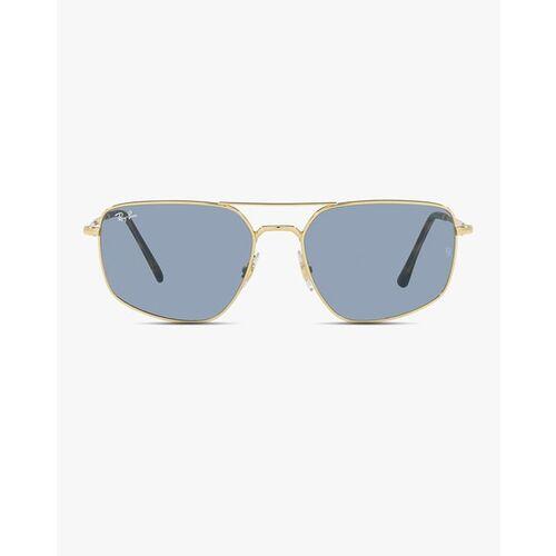 Ray Ban 0RB3666001/6256 UV-Protected Full-Rim Oversized Sunglasses
