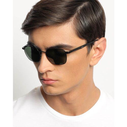 Ray Ban 0RB3664002/3150 UV-Protected Full-Rim Square Sunglasses
