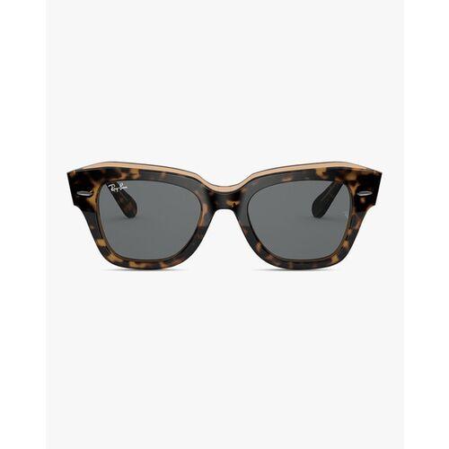 Ray Ban 0RB21861292B152 Full-Rim UV-Protected Rectangular Sunglasses