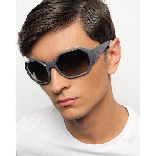 Ray Ban 0RB433764971159 UV-Protected Full-Rim Hexagonal Sunglasses