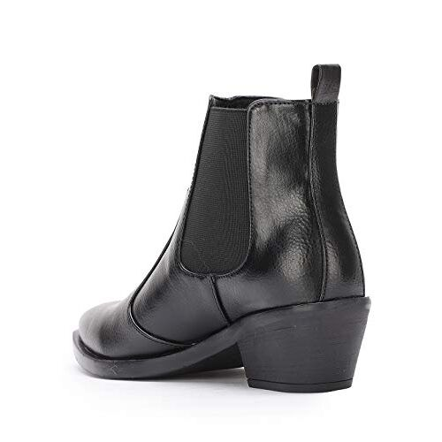 Bruno Manetti Women's Mid Ankle Length Side Elastic Boots