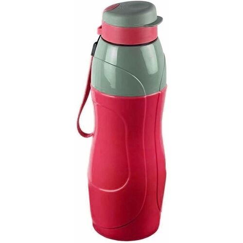 cello Puro Sports Water Bottle, 600ml, Red 600 ml Bottle(Pack of 1, Red, Plastic)
