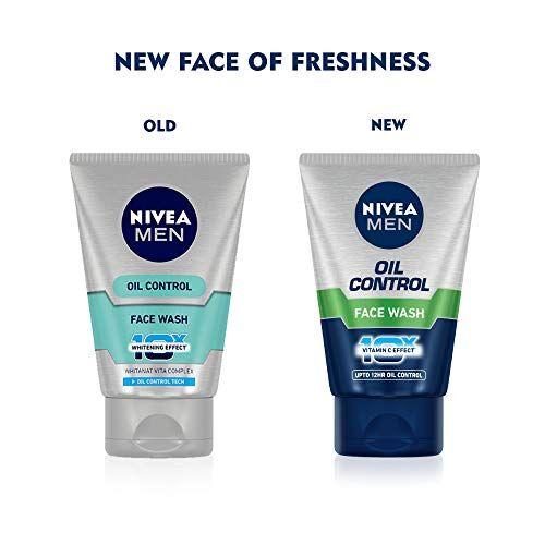 NIVEA Men Face Wash, Oil Control, 10x Vitamin C