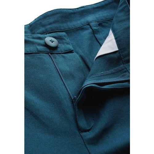 Mast & Harbour Women Teal Blue Regular Fit Solid Joggers