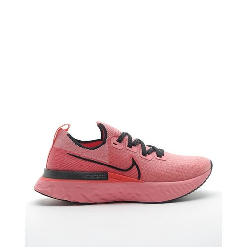 Nike React Infinity Run Fk Lace-Up Running Shoes