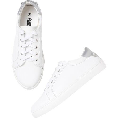 KOOK N KEECH Sneakers For Women(White)