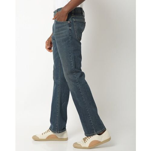 Levi's MB H220 Lightly Washed Flared Jeans