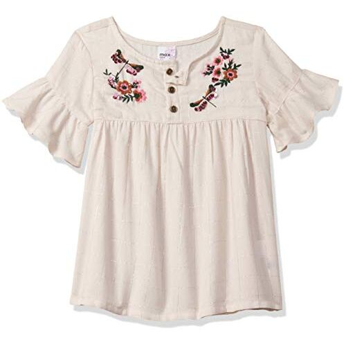 Max Floral Embroidered Top
