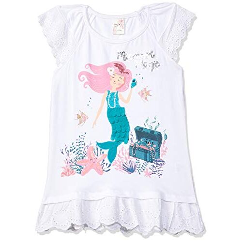 Max Girl's Plain Regular fit T-Shirt