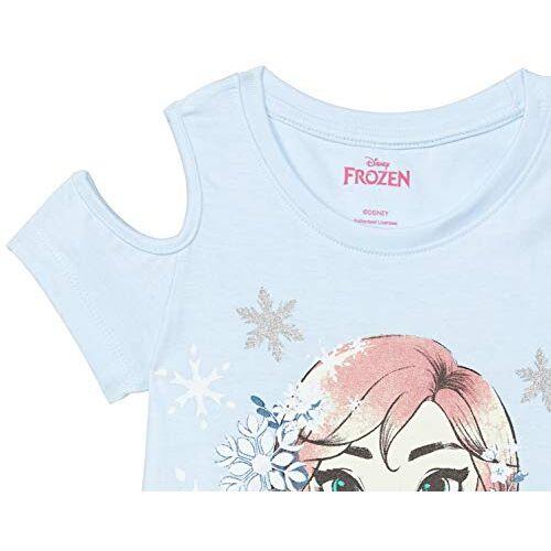 Max Disney Princess Print Cold-Shoulder Top