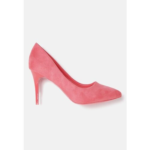 DressBerry Women Pink Solid Pumps