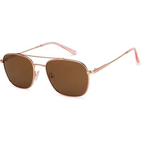 VINCENT CHASE Retro Square Sunglasses(For Men & Women, Brown)