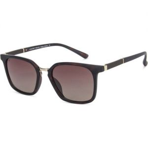 VINCENT CHASE Wayfarer Sunglasses(For Men & Women, Brown)