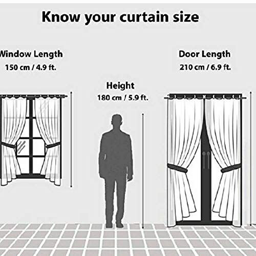 HVF THREADS with Device Long Crush Semi Transparent Curtains -1 pcs