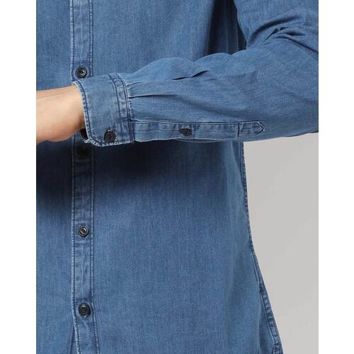 Pepe Jeans Textured Shirt with Placement Applique