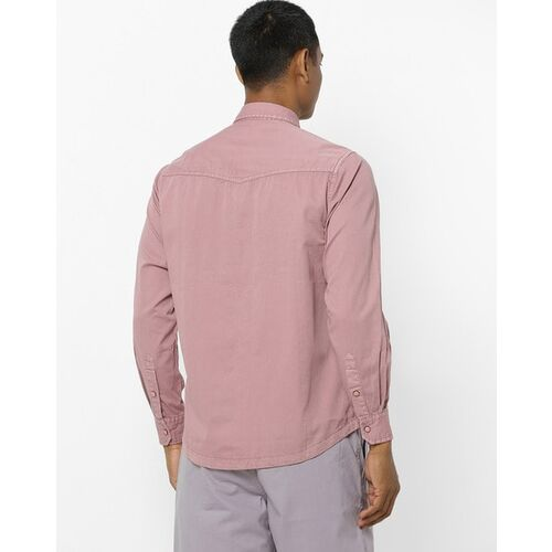 Pepe Jeans Cotton Shirt with Buttoned Flap Pockets
