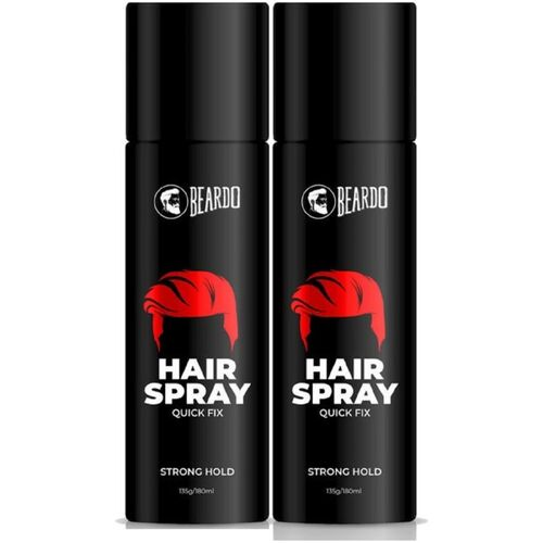 BEARDO Strong Hold Hair Spray Combo For Men Hair Spray (270 gm) Hair Spray(270 g)