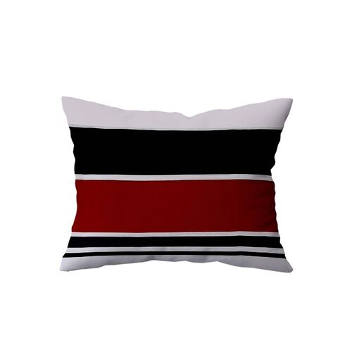 Salona Bichona Red & Black Ethnic Motifs 120 TC Cotton 1 King Bedsheet with 2 Pillow Covers