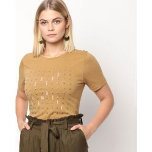 Only Embellished Crew-Neck T-shirt