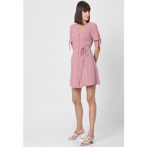Vero Moda Pink A-Line Dress