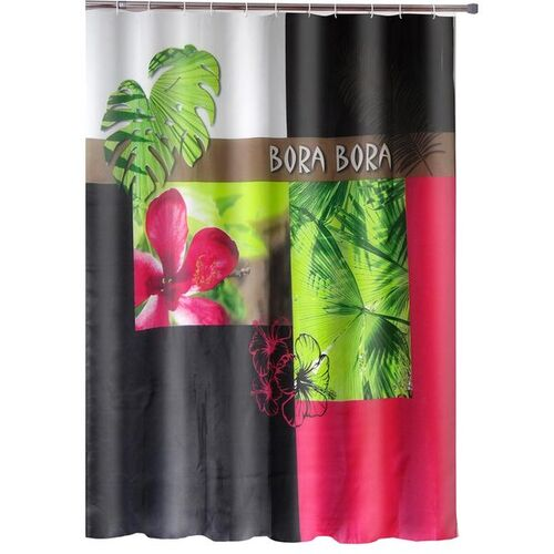 Polyester Digital Printed Shower Curtain
