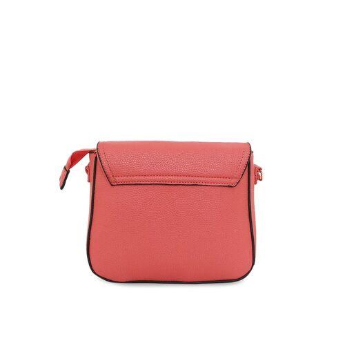 Lavie Women Pink Solid Sling Bag