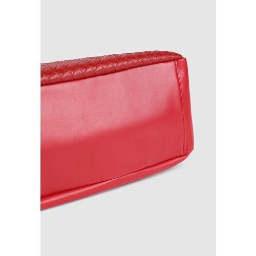 Lavie Red Textured Sling Bag