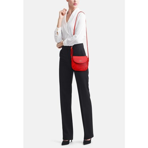 Lavie Women Red Solid Sling Bag