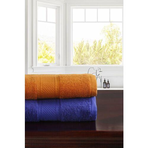 TRIDENT Cotton 460 GSM Bath Towel Set(Pack of 2)