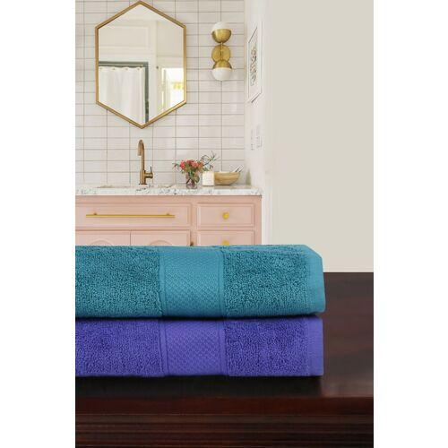 TRIDENT Cotton 500 GSM Bath Towel Set(Pack of 2)