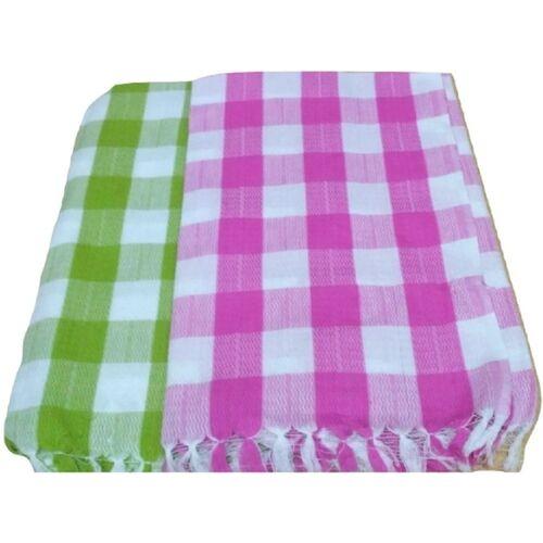 Cotton Colors Cotton 200 GSM Bath Towel(Pack of 2)
